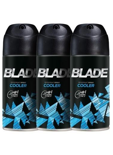 Blade Cooler Erkek Deodorant 3X150Ml Renkli